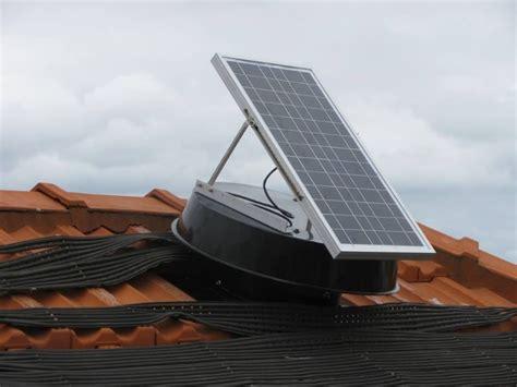 efficient solar whiz roof ventilation unit sw