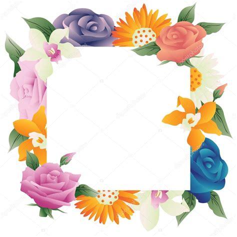 Fondos de marcos con flores marco flores vintage