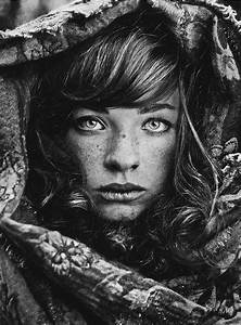 Portrait Photography Beautiful black and white...