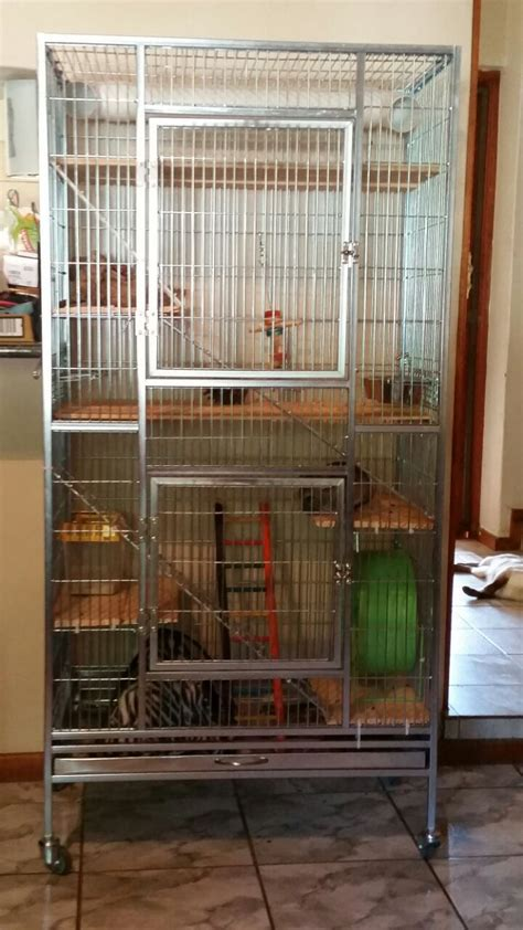 custom chinchilla cage    pets multipurpose