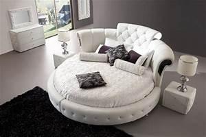 Lit Rond But : lit rond au c ur d une chambre au design original design feria ~ Teatrodelosmanantiales.com Idées de Décoration