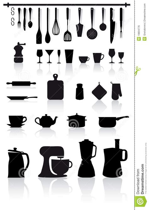 kitchen  home utensils  cutlery royalty  stock
