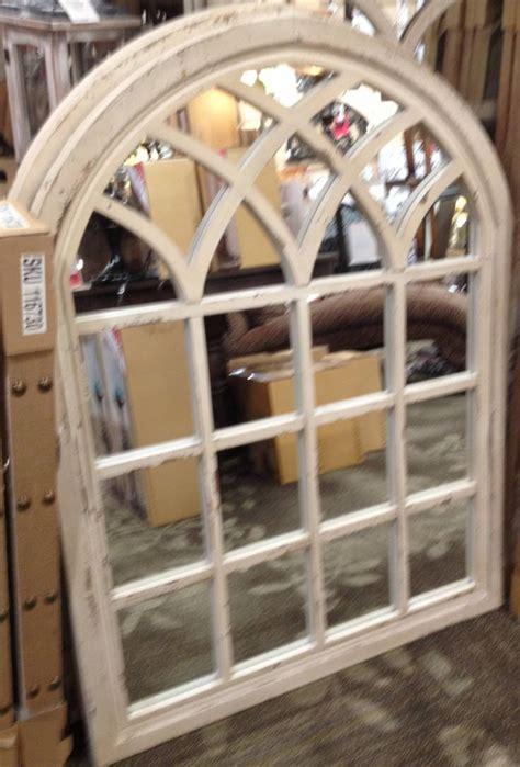 window pane decor 25 photos white arched window mirrors