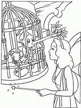 Coloring Pages Pinocchio Printable sketch template
