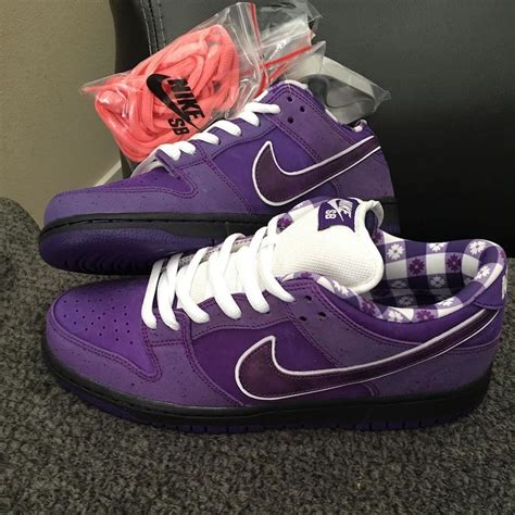 Concepts Nike SB Dunk Low Purple Lobster BV1310-555 ...