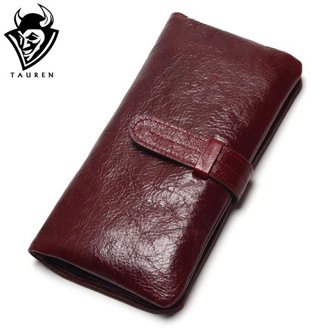 100 cowhide leather color wallet 100 top genuine wax