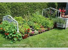 Make a Bed Frame Flower Garden Empress of Dirt
