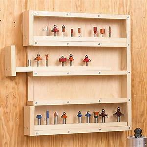 Easy-Access Router-Bit Storage Woodworking Plan from WOOD