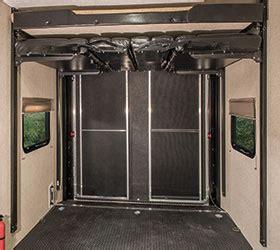 sportster travel trailer  wheel toy hauler features   rv