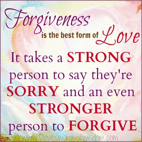 5 forms of love daveswordsofwisdom forgiveness is the best form of love