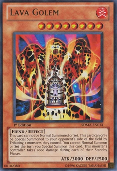 Structure Deck Marik Japanese by Yu Gi Oh Structure Deck Marik 1st Ed Single Lava Golem