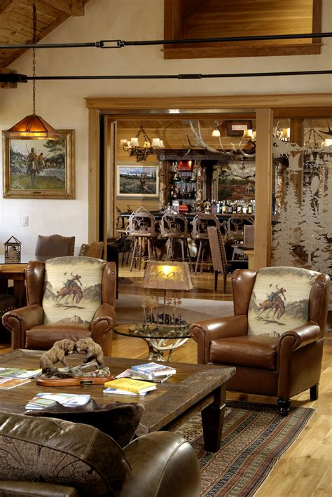 rustic western ranch home love  cowboy chairs