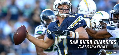 San Diego Chargers 2016-17 Team Preview Odds