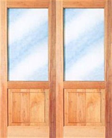 full pane top solid bottom    exterior doors