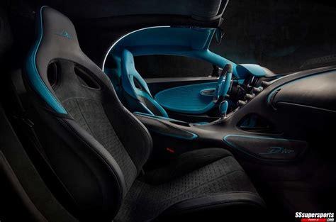 bugatti divo interior passenger seat sssupersports
