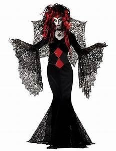 Halloween Kostüm Herren Ideen : schwarze witwe halloween gothic damen kost m schwarz rot ~ Lizthompson.info Haus und Dekorationen