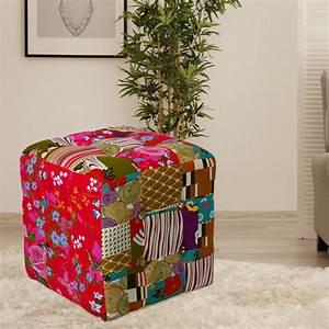 Design Shop Möbel : design sitzhocker im patchwork design f r ihren wohnraum lampen m bel m bel hocker ~ Sanjose-hotels-ca.com Haus und Dekorationen