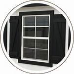 Storage Building Windows Window Custom Packages Shutters