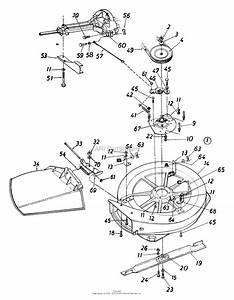 Mtd 133b560b019  1993  Parts Diagram For Deck Assembly