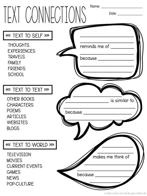 increase text connections  sentence frames literacy