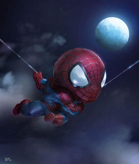 mini spider man  behance