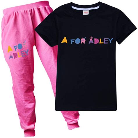 Zheart A For Adley Kids T Shirt And Trousers