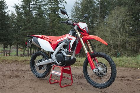 2019 Honda Crf450l Review Of Specs  Features + R&d Info