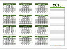 calendario 2015 3 Printable 2018 calendar Free