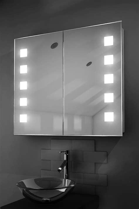 Illuminated Bathroom Mirrors Uk by Excel Led Illuminated Bathroom Mirror Cabinet With Sensor