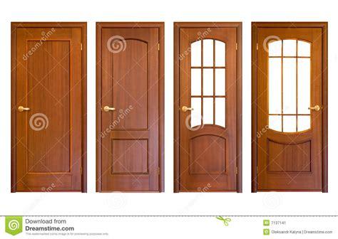portas de madeira imagem de stock imagem de acesso