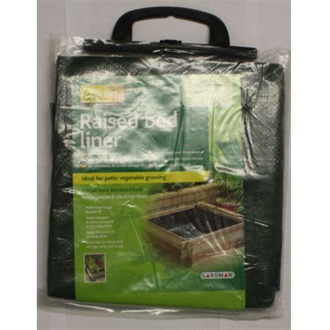 gardman raised grow bed liner sheet garden patio new ebay