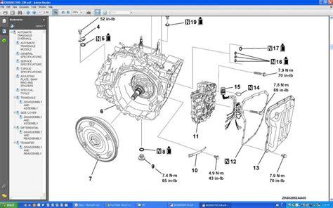 mitsubishi outlander manual transmission schematic