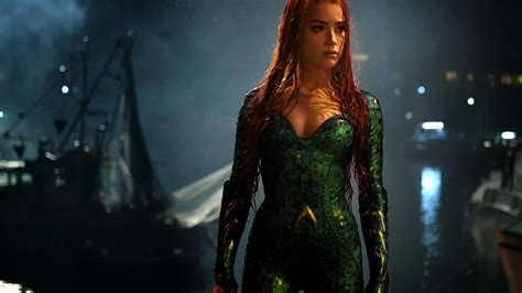 amber heard  mera  aquaman full hd wallpaper