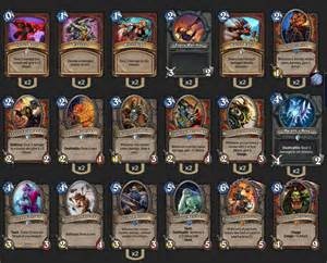 Warrior Hearthstone Deck Hearthstone Top Decks
