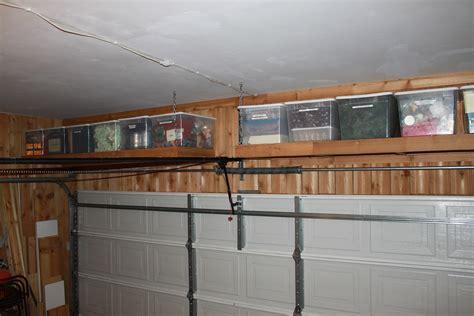 shelves   garage door  cavender diary