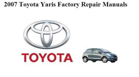 manuales de mecanica automotriz by autorepair soft manual de reparacion toyota yaris 2007