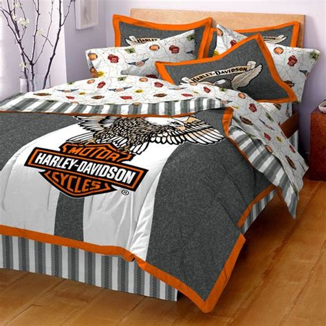 Harley Davidson Bedroom by Decorating With Harley Davidson Harley Davidson Beddings