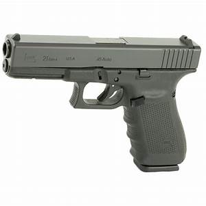 Glock Ug2150203 G21 Gen 4 45 Acp 4 60 U0026quot  13 1 Black Black