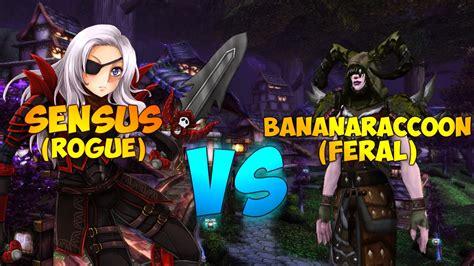 rogue wow druid feral vs pvp sensus
