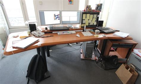 montage de bureau table de montage du bureau buc 603 hauteur 90largeur 220 profondeur cm 130 cm bureau buc 603