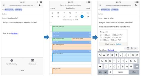 view shared outlook calendar on iphone a deeper look at outlook for ios and android office blogs