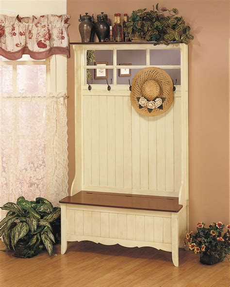 Small Tree Storage Bench by Powell Country Tree With Storage Bench By Oj