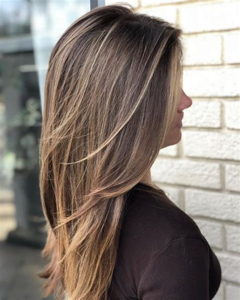 cutest long layered haircuts trending
