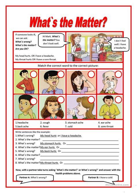trip   doctor worksheet  esl printable
