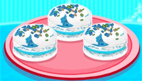 jeux de cuisine patisserie les macarons glacés d elsa jeu de pâtisserie jeux 2