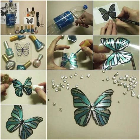 cheap and easy crafts for adults 31 incredibly cool diy crafts using nail polish butterfly art teen and butterfly