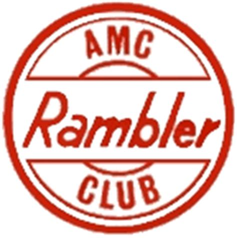 rambler car logo international amc rambler car club