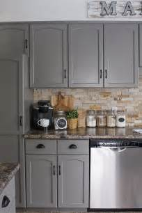 Gray Paint Kitchen Cabinets