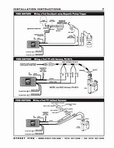 New Msd Streetfire 5520 Wiring Diagram Ford Ignitions