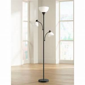 Bingham black tree torchiere 3 light floor lamp 1y323 for Tree floor lamp canada